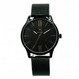 Montreville MON-2 Horloge Houston staal zwart 40 mm