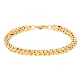 IXXXI B0024499001 Armband Moscow staal goudkleurig 19-21 cm