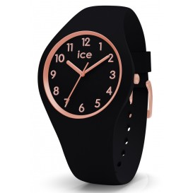 Ice-Watch horloge Lou Lou Black Rosegold Small IW014760