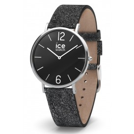 Ice-Watch Horloge City Sparkling Glitter Black 38 mm IW015088