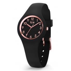 Ice-Watch ICE Glam Black Rosegold 30 mm zwart-rosékleurig IW015344