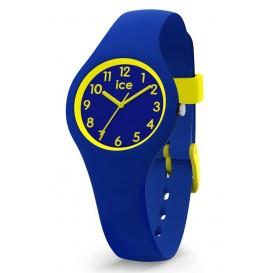 Ice-Watch ICE Ola Kids Rocket blauw-fluorgroen 30 mm IW015350