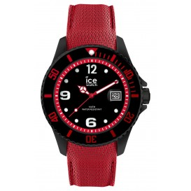 Ice-Watch horloge Ice Metal Black-Red 44 mm IW015782