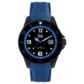 Ice-Watch horloge Ice Metal Black-Blue 44 mm IW015783