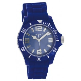 OOZOO Horloge Junior 38 mm blauw JR241