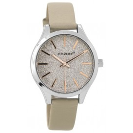 OOZOO Horloge Junior sand-rosé 35 mm JR296