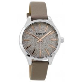 OOZOO Horloge Junior taupe-rosé 35 mm JR298