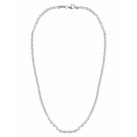 FirstChoice MKK03 Ketting zilver Koord 3 mm breed 16,2 gram 45 cm