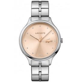 Lacoste LC2001031 Horloge zilverkleurige wijzerplaat 38 mm
