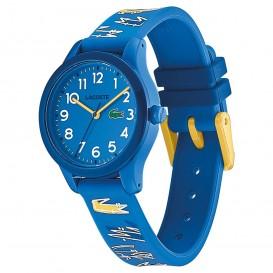 Lacoste LC2030019 L.12.12. KIDS Horloge Blauw-Geel 32 mm-2
