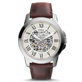 Fossil Herenhorloge Grant Automatic staal 45 mm ME3099