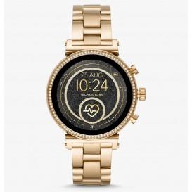 Michael Kors MKT5062 Access Sofie Generatie 4 Smartwatch goudkleurig 42 mm