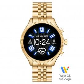 Michael Kors MKT5078 Access Lexington Gen 5 Display Smartwatch goudkleurig 45 mm