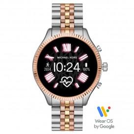 Michael Kors MKT5080 Access Lexington Gen 5 Display Smartwatch tweekleurig 45 mm