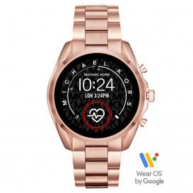 Michael Kors MKT5086 Access Bradshow Gen 5 Display Smartwatch rosékleurig 45 mm