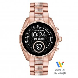 Michael Kors MKT5089 Access Bradshow Gen 5 Display Smartwatch rosékleurig 45 mm