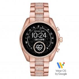 Michael Kors MKT5089 Access Bradshow Gen 5 Display Smartwatch rosékleurig 45 mm