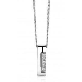 Zinzi by Mart Visser MVC17 Ketting zilver 45 cm