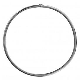 FirstChoice FCCUB40 Armband zilver Omega 4,0 mm 9,4 gram 19 cm