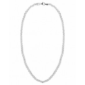 FirstChoice PAL04 Ketting zilver Palmier 4,0 mm breed 23,9 gram 45 cm