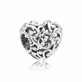 Pandora Bedel zilver Regal Heart 797672