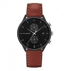 Paul Hewitt Horloge Chrono Line Black bruin-zwart 42 mm PH-C-B-BSS-1M