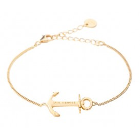 Paul Hewitt Armband Anchor Spirit 18k goldplated 19 cm PH-AB-G
