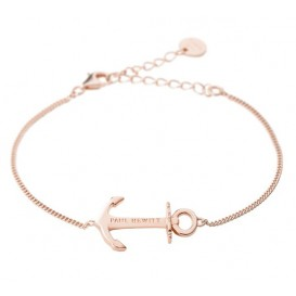 Paul Hewitt Armband Anchor Spirit 18k rosegoldplated 19 cm PH-AB-R