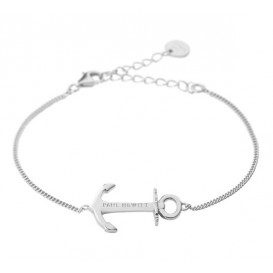 Paul Hewitt Armband Anchor Spirit 18k silverplated 19 cm PH-AB-S