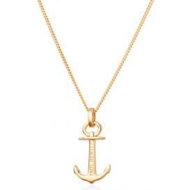 Paul Hewitt Ketting Anchor Spirit Goldplated 40-45 cm PH-AN-G