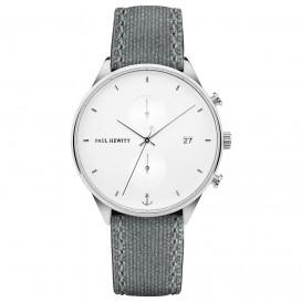 Paul Hewitt PH-C-S-W-51M Horloge Chrono Line White Sand Steel 42 mm