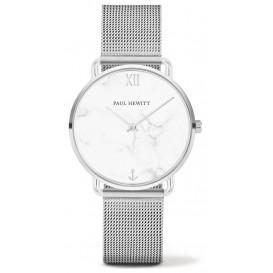 Paul Hewitt Horloge Miss Ocean Line Marble zilverkleurig 33 mm PH-M-S-M-4S