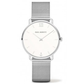 Paul Hewitt Horloge Miss Ocean White Sand zilverkleurig 33 mm PH-M-S-W-4S