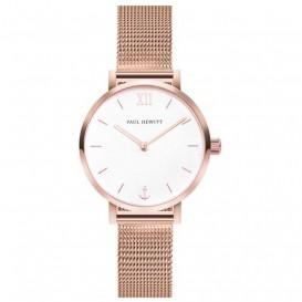 Paul Hewitt PH-SA-R-XS-W-45S Horloge Sailor Line Modest White Sand rosekleurig 28 mm