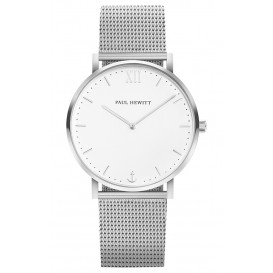 Paul Hewitt Horloge Sailor Silver White Sand 36 mm PH-SA-S-Sm-W-4M