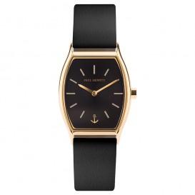 Paul Hewitt PH-T-G-BS-32S Horloge Modern Edge Black Sunray goudkleurig-zwart 30 mm