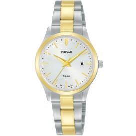 Pulsar PH7542X1 Horloge staal zilver- en goudkleurig 28 mm