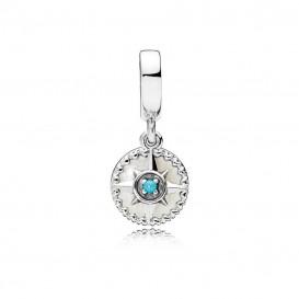Pandora Hangbedel 797196EN23 zilver Compass Rose