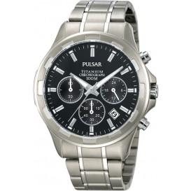 Pulsar Herenhorloge Chronograaf titanium PT3215X1