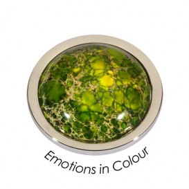 Quoins Disk QMEK-M-SS-G Emotions in Colour Green Medium