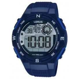 Lorus Herenhorloge Digitaal Blauw R2319LX9