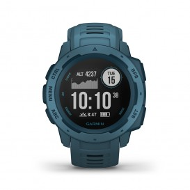 Garmin 010-02064-04 Instinct Lakeside Blue schokbestendig GPS 45 mm-1