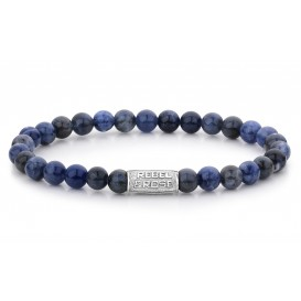 Rebel and Rose Armband Midnight Blue 6 mm 16,5 cm RR-60012-S