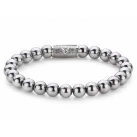 Rebel and Rose Armband Silver Shine 17,5 cm RR-8DV01-S