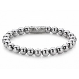 Rebel and Rose Armband Silver Shine  RR-8DV01-S