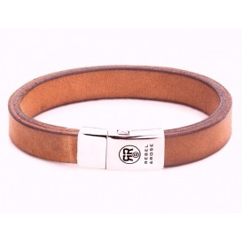 Rebel and Rose Armband Vintage Cognac 21 cm RR-L0045-S