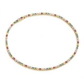 Sif Jakobs SJ-B2869-XCZ-YG Armband Ellera Multicoloured zilver goudkleurig 19 cm