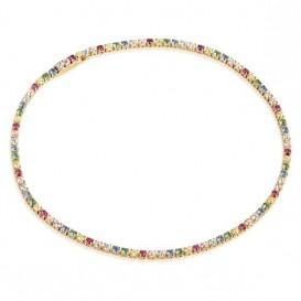 Sif Jakobs SJ-B2869-XCZ-YG Armband Ellera Multicoloured zilver goudkleurig 17 cm