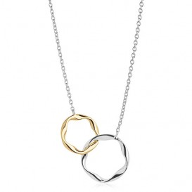 Sif Jakobs SJ-C1078-YG2 Cetara Pianura Due Piccolo zilver- en goudkleurig 45 cm