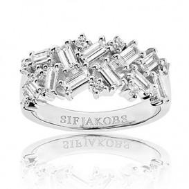 Sif Jakobs SJ-R0463-CZ Ring Antella zilver Maat 56